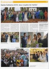 Le journal du lycée Jeanne d'Arc St Ivy a accordé une double page sur sa Sainte Catherine, événement sur lequel l'agence a été très active pour la 2e année.